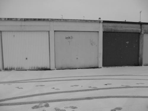 Garages in Snow