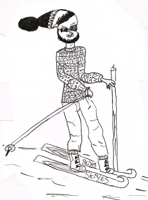 Grockle on the Piste