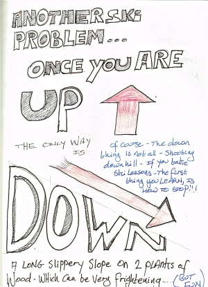 Once you're up, the only way is down.