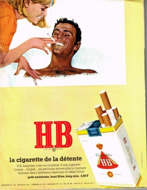 French cigarette advert from 1967