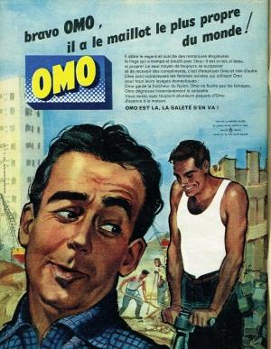 1962 advert for Omo washing powder.