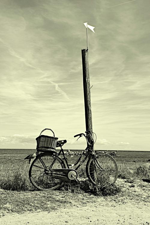 Bike at the beach