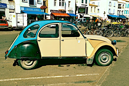 Multi coloured 2cv