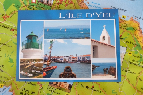 Postcard from Ile d'Yeu