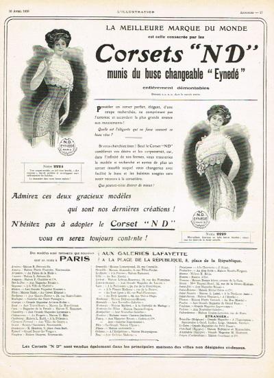 Corsets 1910