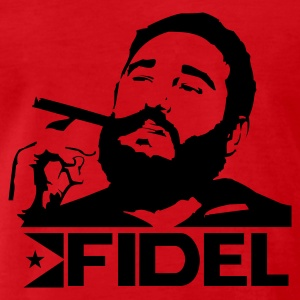 red-fidel-castro-cuba-revolution-men-men-s-premium-t-shirt