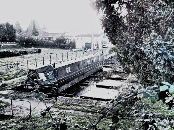 English narrow boat