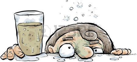 29156771-a-cartoon-drunk-person-leans-their-face-against-the-bar