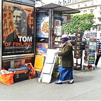 Walking Paris in the Walker Evans spirit